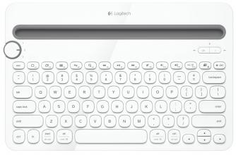 Безжична клавиатура Logitech K480 Bluetooth Multi-Device /920-006367/ - Бял