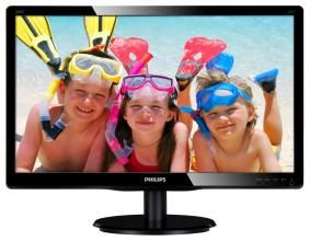 "Philips 200V4QSBR, 19.53"" MVA LED, FullHD"