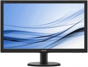 "Philips 240V5QDAB, 23.8"" IPS LED, Full HD 1920 x 1080"