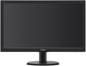 "Philips 240V5QDSB, 23.8"" IPS LED, Full HD 1920 x 1080"