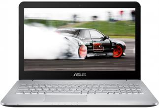 "Геймърски лаптоп Asus N552VX-FY209D, Intel Core i7-6700HQ (up to 3.5GHz) 15.6"" FullHD IPS, 8GB DDR4 RAM, 1TB HDD, GeForce GTX 950 4GB DDR3"
