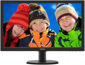 "Philips 243V5QSBA, 23.6"" MVA LED, FullHD"