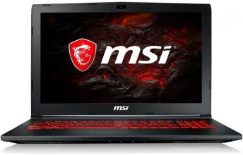 "UPGRADED MSI GL62M 7RDX, 15.6"" FHD, i7-7700HQ, 32GB RAM, 256GB SSD, 1TB HDD, GTX 1050, Черен"