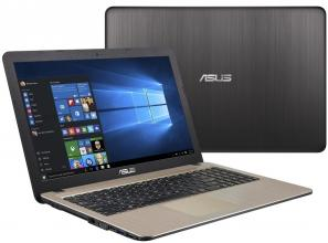 "ASUS X540NV-DM025, 15.6"" FHD, Quad-Core Pentium N4200, 8GB RAM, 1TB HDD, GF 920MX 2GB DDR3, Черен"