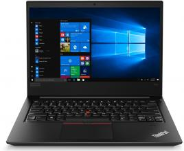 "UPGRADED Lenovo ThinkPad E480, 14"" FHD IPS, i5-8250U, 8GB RAM, 512GB SSD, Win 10 Pro, Черен"