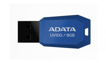 USB флаш памет Adata UV100 8GB Blue