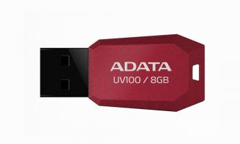 USB флаш памет Adata UV100 8GB RED