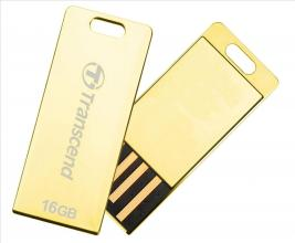 Transcend 16GB JETFLASH T3G, Golden
