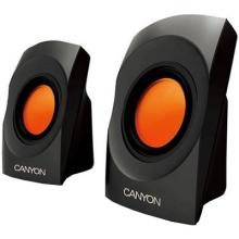 Мобилни тонколони Canyon CNR-SP20JB / USB - Черен и оранжев