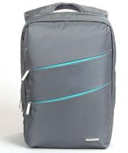 "Раница за лаптоп Kingsons Laptop Backpack Evolution Series KS8533-G до 15.6"" - Сив"