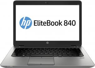 "HP EliteBook 840 (G8R97AV_96973332) 14.0"" LED SVA HD+, i5-5200U, RAM 4GB, 500GB HDD, Intel HD Graphics 5500, Windows 7 Pro + Windows 8.1 Pro, Черен"