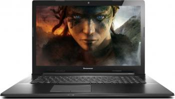 "Лаптоп Lenovo IdeaPad G70-70, Intel Core i5-4210U (2.70GHz) 17.3"" IPS HD, 8GB RAM, 1TB HDD, nVidia GT820 2GB, 80HW00AQBM"