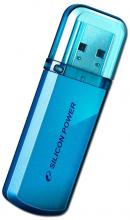 USB флаш памет 8GB Silicon Power Helios Ocean Blue 101
