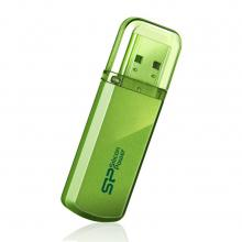 USB флаш памет 16GB Silicon Power Helios Apple Green 101