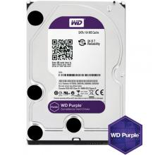 "Твърд диск HDD 3.5"" Western Digital 6TB, 7200rpm, 64MB Cache, Purple DVR/Surveillance"