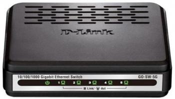 Switch  D-Link GO-SW-5G/E гигабитов
