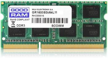 GOODRAM 8GB DDR3 SoDimm