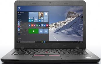 "Лаптоп Lenovo ThinkPad E460 14"", Intel Core i5-6200U (up to 2.80GHz) 4GB RAM, 500GB, AMD Radeon R5 M330 2GB, Черен"