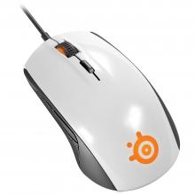 Геймърска мишка SteelSeries Rival 100 White