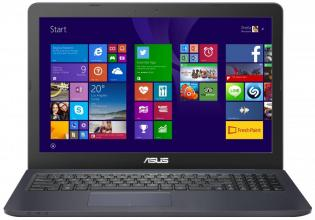 Asus Eebook L502SA-XX011D, Intel Pentium Quad-Core N3700 (up to 2.40GHz) 4GB RAM, 1TB HDD, Intel HD Graphics, Син