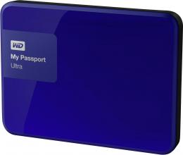 Въшнен диск Western Digital My Passport Ultra 2TB USB 3.0  Blue