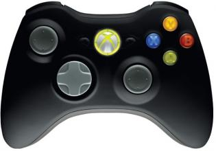 Безжичен геймпад Microsoft Xbox 360 Wireless Common Controller USB English Black Retail