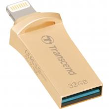 USB флаш памет Transcend 32GB JetDrive Go 500 Gold Plating