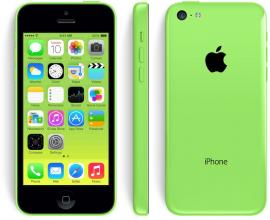Реновиран iPhone 5C 16GB, AX Зелен