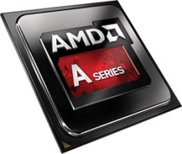 Процесор AMD A6-6400K (3.9 GHz up to 4.10 GHz, 1 MB Cache)