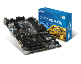 Дънна платка MSI Z170A PC MATE (Z170A PC MATE)