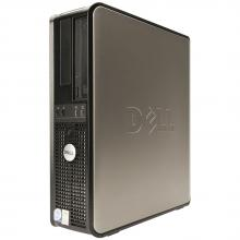 Двуядрен DELL Optiplex 760 Desktop, E7400, 2GB RAM, 160GB HDD