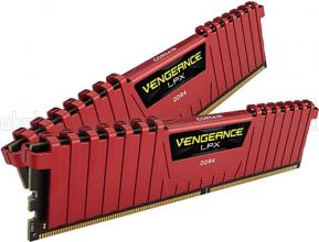 Corsair Vengeance® LPX 16GB (2x8GB) DDR4 DRAM 3000MHz C15 Kit - Red