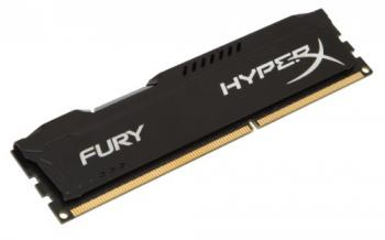 Kingston 8GB DDR3 1600MHz CL10 HyperX FURY Black