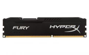 Kingston 8GB DDR4 2666MHz CL15 HyperX FURY Black