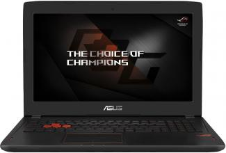 "ASUS ROG Strix GL502VS-FY281T, 15.6"" FHD IPS, i7-7700HQ, 16GB DDR4, 256GB SSD, 1TB HDD, GTX 1070, Win 10, Раница за лаптоп, Черен"