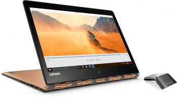 "Ултрабук Lenovo Yoga 900-13ISK (80MK00DSBM) 13.3""  IPS Touch FHD, i7-6500U, 8GB RAM 256GB SSD, Windows 10, Оранжев"