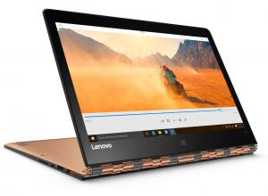 "Ултрабук Lenovo Yoga 900S-12ISK (80ML008NBM) 12.5""  IPS Touch, Intel Core m5 6Y54, 8GB RAM 256 GB SSD, Intel HD 515, Win 10, Жълт"