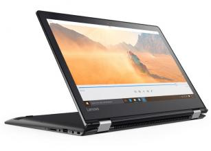 "Lenovo Yoga 510-14IKB, (80VB0041BM), 14"",IPS Touch AG FHD(1920x1080), i7-7500U, 8GB DDR4, 1TB HDD, Intel HD Graphics 620,Win 10, Черен"