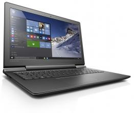 Геймърски лаптоп Lenovo IdeaPad 700-15ISK (80RU00LRBM) Intel i7-6700HQ 8GB DDR4, 1TB HDD, GTX 950M 4GB, Черен