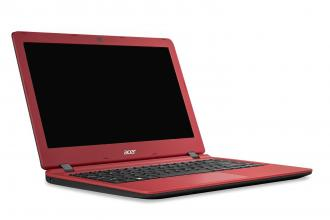 "ACER ES1-332-P8B6 13.3"" HD, Pentium N4200, 4GB, 32GB SSD, 1TB HDD, Intel HD Graphics 505, Linux, Червен/Черен NX.GG0EX.001"