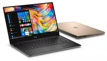 "DELL XPS 13 MLK 9360 13.3"" QHD+, i7-7500U, RAM 8GB, 256GB SSD, Intel HD Graphics 620, Windows 10 Home, Златист"