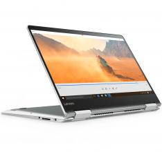 "Ултрабук Lenovo Yoga 710 (80V4006DBM) 14"" FHD IPS Touch, i5-7200U,  2GB, 8GB DDR4, 256GB SSD, GF 940MX, Windows 10, Сребрист"