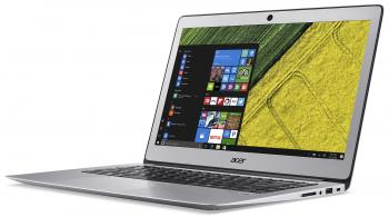 "Acer Aspire Swift 3 Ultrabook (NX.GKBEX.021) 14.0"" HD, Pentium 4405U, 4GB RAM, 128GB SSD, Win 10, Сребрист"