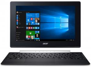 "Acer Aspire SW5-017 (NT.LCUEX.003), 10.1"" IPS Touch, Intel Atom x5-Z8350, 4GB RAM, 64GB eMMC + 500GB HDD, Windows 10, Черен"