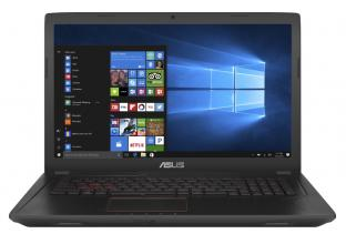 "Asus FX753VD-GC151 17.3"" IPS FullHD, Intel Core i7-7700HQ, 16GB RAM, 1TB HDD, GTX1050 GDDR5 4GB, Linux, Металик
