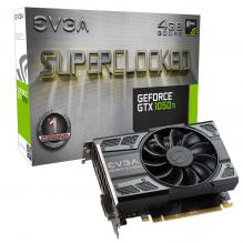 Видео карта  EVGA GeForce® GTX 1050 Ti SC GAMING 4GB GDDR5 (04G-P4-6253-KR)