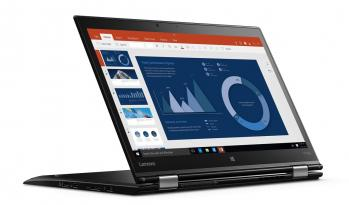 "Таблет Lenovo Thinkpad X1 Yoga (20FR004NBM) 14.0"" WQHD IPS Touch , i7-6600U, 16GB RAM, 512GB SSD, Windows 10, Черен"