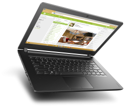 "Lenovo IdeaPad 110 (80T700GFBM) 15.6"" HD N3710, 4GB RAM, 1TB HDD, Черен"