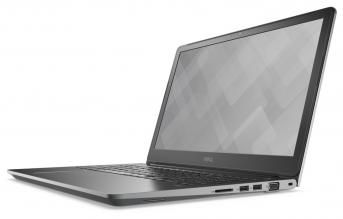 "DELL Vostro 5568 Core i5-7200U 15.6"" FHD, 8GB RAM, 256 GB SSD, NVIDIA GeForce 940MX 4GB, Linux, Сив"