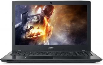 "Acer Aspire E5-575G-37JS, 15.6"" HD, i3-6006U, 4GB RAM, 1TB HDD, GeForce 940MX 2GB, Linux, Черен"